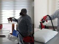 Gülenyüzler, rehabilitasyon merkezi dezenfekte edildi
