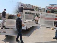 Belediye ve Kayhan Ergun MTAL'den ortak proje 'Temassız Korona Testi Kabini'
