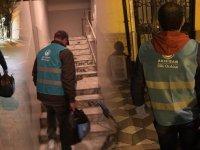 Akhisar Ülkü Ocakları ihtiyaç sahiplerine yardım eli uzatıyor