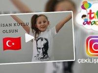 Tıfıl Anaokulu, 23 Nisan özel İnstagram çekilişi başlattı