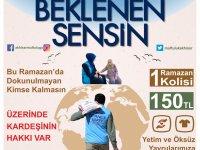 Akhisar Müftülüğü ihtiyaç sahiplerine ramazan yardım kampanyası