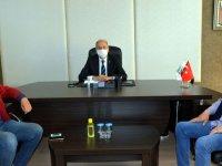 Oda Başkanları ATSO başkanı Erdayıoğlu'nu ziyaret etti