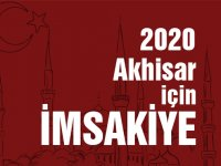 Akhisar için 2020 yılı Ramazan ayı imsakiye