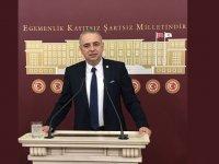 Milletvekili Bakırlıoğlu, hastanelerin birçok katı Covid-19 hastaları ile doldu