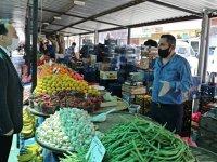 Başkan Dutlulu, pazarcı esnafını ziyaret etti