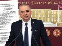 CHP Manisa Milletvekili Ahmet Vehbi Bakırlıoğlu, dolmuşçu esnafına alacakları ödensin