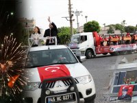 Akhisar'da 19 Mayıs coşkuyla kutlandı