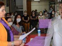 CHP Kadın Kollarından ortak basın açıklaması