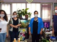 CHP Kadın Kolları Akhisar Haber'i ziyaret etti