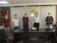 Tekstil ve Gıda İmalatçıları sitesinden ATSO'ya hayırlı olsun ziyareti