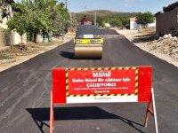 Akhisar Belediyesi'nden 1 yılda 11 bin ton sıcak asfalt