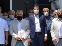 Ziraat Odasından AK Parti ve İYİ Parti İlçe Başkanlarına ziyaret