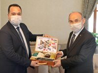 Başkan Dutlulu Vali Karadeniz'e Akhisar'ı anlattı