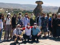 Özdemirler Turizm, hafta sonunu Kapadokya'da geçirdi