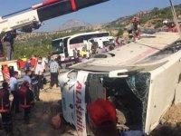 Manisa'daki birlikten çıkan askerler Mersin'de kaza yaptı 5 şehidimiz var