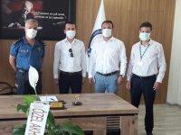 Özel Akhisar Hastanesinden yeni emniyet müdürüne ziyaret