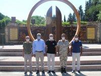 Atso'dan Albay Şahin'e iade-i ziyaret