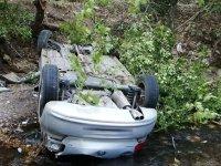 Akhisar-Sındırgı yolunda kaza 1 kişi hayatını kaybetti