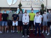 Akhisar Belediye Basketbol takımı sağlık kontrollerini Özel Akhisar Hastanesi'nde yaptırdı
