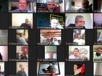TGK 21. Başkanlar kurulu video konferansta buluştu