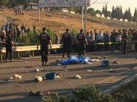 Akhisar ile Saruhanlı arasında kaza 2 ölü