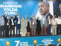 AK Parti Akhisar İlçe Teşkilatında Füzün dönemi resmen başladı