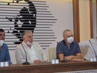 CHP'den Akhisar Ziraat Odasına ziyaret