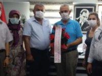 İyi Parti'den Hasan Ali Men'e ziyaret