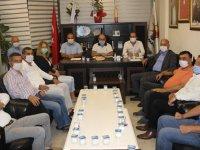 ATSO'dan AK Parti ziyareti