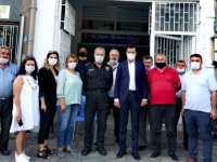 Başaran, İYİ Parti'ye iade-i ziyarette bulundu