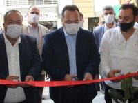 Çınar Manav Akhisarlıların hizmetine açıldı