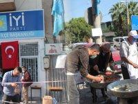 İYİ Parti'den Azerbaycan şehitleri için lokma hayrı