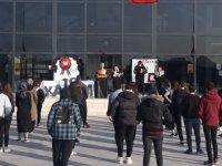 Özel Akhisar Merkez Koleji Ata'sını andı