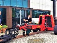 Çınarlı Makina'nın yerli üretim hasat makinesi