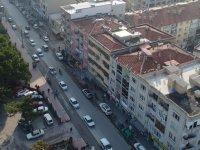 Büyükşehir'e ait sanayi yolu tepki topluyor