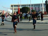 Atatürk'ün Akhisar'a gelişinin 98. yıldönümü törenle kutlandı