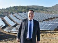 Akhisar Belediyesi'nin ilk Güneş Enerji Santrali açıldı