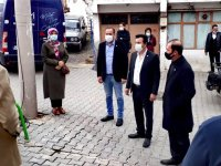 İyi Parti Çamönü mahallesini ziyaret etti