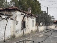 Sünnetçiler Mahallesindeki yangın korkuttu