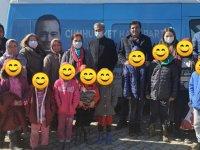 CHP Kadın Kolları, ihtiyaç sahibi çocukların yanında