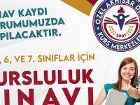 Özel Akhisar Deniz Kurs Merkezlerinden bursluluk sınavı