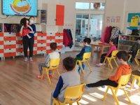 Necdi Şentürk Anaokulu yüz yüze eğitime hızlı başladı