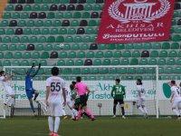 Akhisarspor, 3 puanı 3 golle aldı