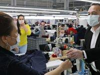 Başkan Dutlulu, fabrikalardaki emekçi kadınların gününü kutladı