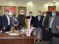 Ziraat Odasından AK Parti İl Başkanı Hızlı'ya ziyaret