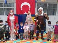 Necdi Şentürk Anaokulu'nda Türk Günü