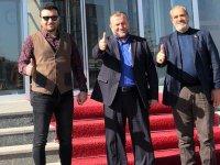 SP İlçe başkanı Fikret Aysu, Genel başkan Karamollaoğlu'nu ziyaret etti