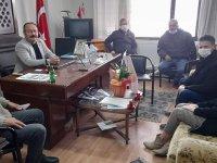 Özel Akhisar Hastanesinden Muhtarlar Derneği Başkanına ziyaret