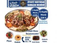 Ziyafet Restoranttan Ramazan Menüsü
