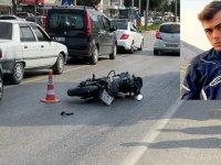 Akhisarlı genç, motosiklet kazasında hayatını kaybetti!